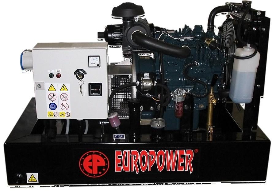Генератор дизельный Europower EP 30 DE в Кузнецке